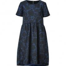 Marc by Marc Jacobs New Prussian Blue Multicolor Clarice Dress