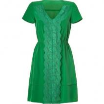 Marc by Marc Jacobs Tourmaline Green Silk Makiko Dress