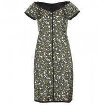Marc Jacobs Kleid Aus Seidentwill Grün