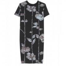 Marc Jacobs Seiden Etuikleid Mit Floralem Print