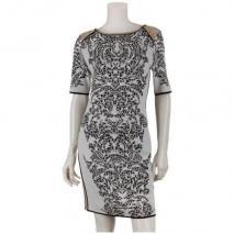 Marccain Woll/Jersey-Kleid Weiß