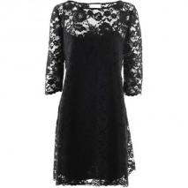 Marchesa Notte Black Lace Dress Mary