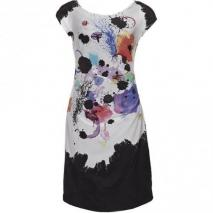Marella Verbena Sommerkleid schwarz