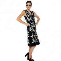 Marni Besticktes Seiden Krepp De Chine Kleid Noir