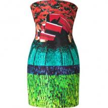 Mary Katrantzou Multicolor Hunky Dory Silk Dress