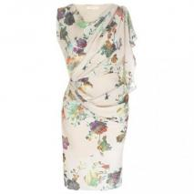 Matthew Williamson lockeres Kleid Beige