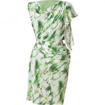 Matthew Williamson Mint Draped Silk Dress