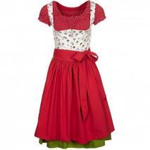 Mein Herzblut RotKÄppchendirndl Blusenkleid rot