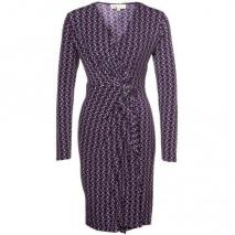 Michael Michael Kors Jerseykleid violett