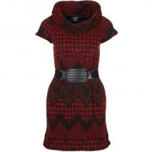 Miss Sixty Annerie Strickkleid red