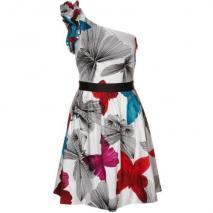 Miss Sixty Faith Cocktailkleid / festliches Kleid weiß