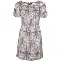 Miss Sixty Long Showbiz Dress Sommerkleid leoprint