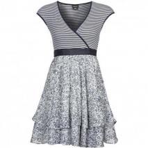 Miss Sixty Witty Sommerkleid blau/weiß