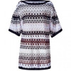Missoni Ivory/Black/Nude Patterned Dress