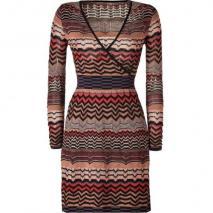Missoni M Black/Mandarin-Multi Knit Dress