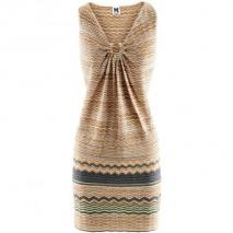 Missoni M Rose Gold Multi Knit Dress