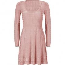 Missoni M Rose Quarz Wool-Blend Scoop Neck Knit Dress