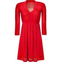 Missoni M Tomato Wool-Blend Knit Dress