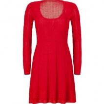 Missoni M Tomato Wool-Blend Scoop Neck Knit Dress
