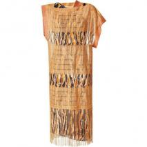 Missoni Mandarin Lurex Fringed Dress