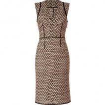 Missoni Opal/Black Patterned Knit-Dress