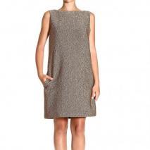Moschino Sleeveless astracan effect dress