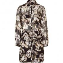 Mulberry The Tippi Multicolor Floral Silk Dress
