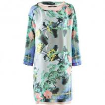 Odeeh Lilac Multi Print Dress