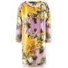 Odeeh Yellow Multi Print Dress