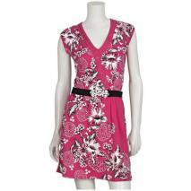 One Green Elephant Kleid Pink