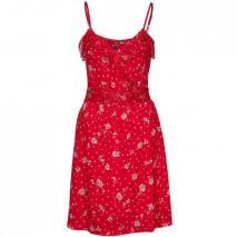 One Step Kleid rot mit Trägern