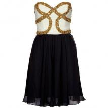 Opulence England Ballkleid black/cream
