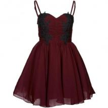 Opulence England Sweetheart Ballkleid red