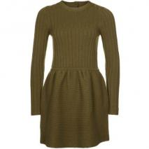 Orla Kiely Strickkleid dark olive