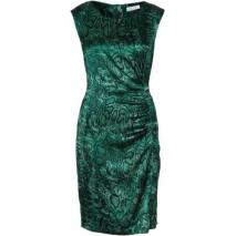 Oui Sommerkleid green/grey