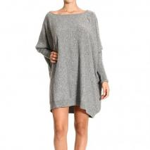 Paciotti Long sleeve over round neck dress