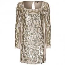 Patrizia Pepe Cocktailkleid / festliches Kleid cosmic gold