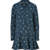 Paul & Joe Marine Silk Sacripan Shirtdress