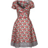 Paul & Joe Sister Vivaldi Kleid rot / braun