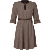 Paul & Joe Tonal Clay Belted Folette Dress
