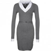 Pepe Jeans Ruth Strickkleid grey marl