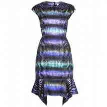 Peter Pilotto Jacquard-Kleid Mit Digital-Print
