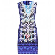 Peter Pilotto Kleid Mit Digital-Print Blau
