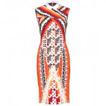 Peter Pilotto Kleid Mit Digital-Print Orange
