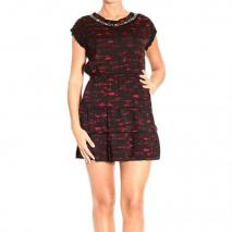 Pinko Dress Black and Red