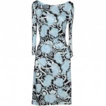 Prada Knielanges Kleid Himmelblau