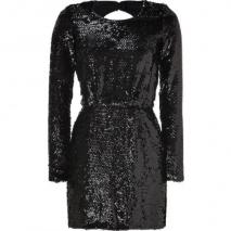 Rachel Zoe Black Sequined Selita Dress