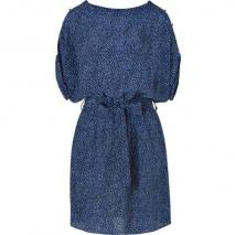Rachel Zoe Saphire Silk Print Porter Dress