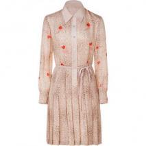 Raoul Vanilla Printed Silk Chiffon Dress