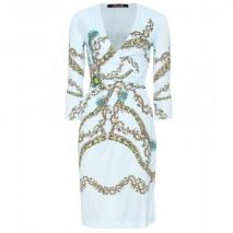 Roberto Cavalli Drapiertes Print-Kleid Briolette